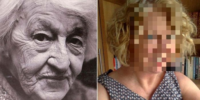 These Two Women Look Drastically Different At 69 Years Old (2 pics)