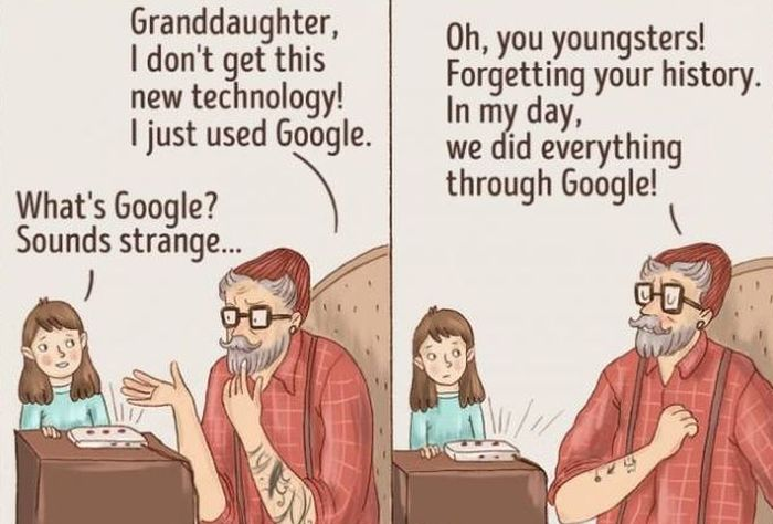 What The Current Generation Will Look Like When We All Grow Old (10 pics)