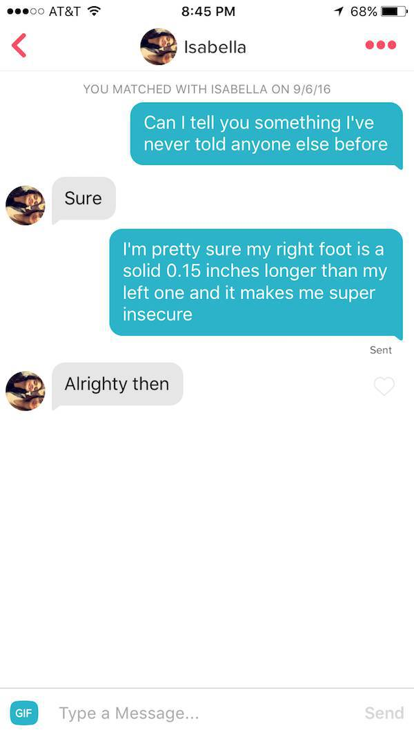 Funny Guy Busts Out Successful Pickup Lines On Tinder (26 pics)