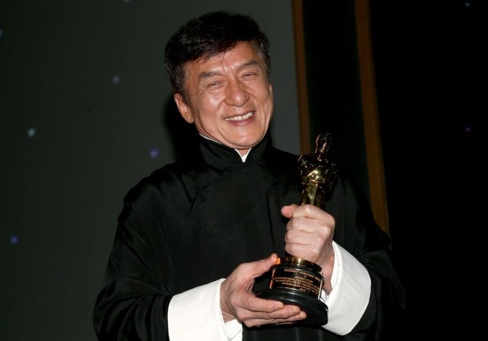 Jackie Chan Says His Honorary Oscar Award Is A Dream (3 pics)