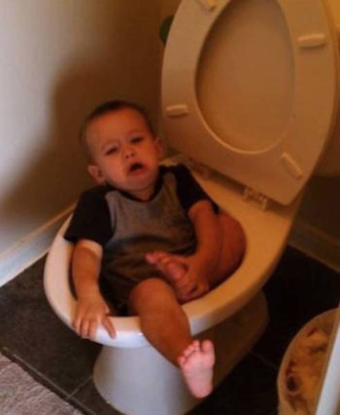 Hilarious Kid Fail Photos That Will Keep You Laughing All Day Long (34 pics)