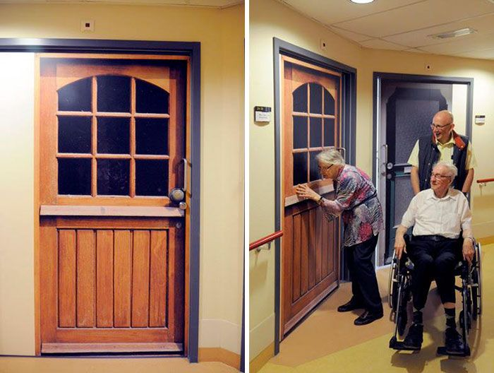 Company Helps Dementia Patients Find Home By Recreating Doors (9 pics)