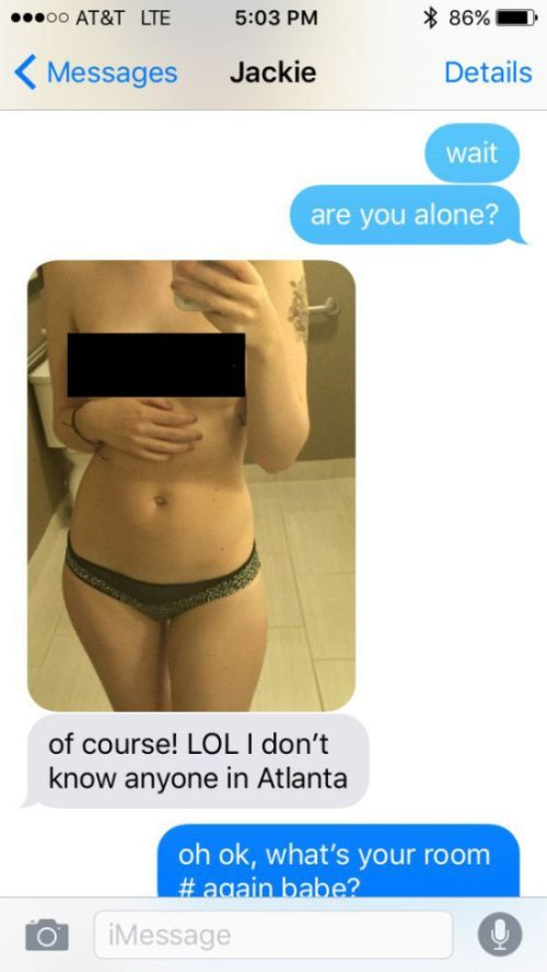 Cheating Girlfriend Gets Busted While Sending Her Boyfriend Sexy Pics (5 pics)