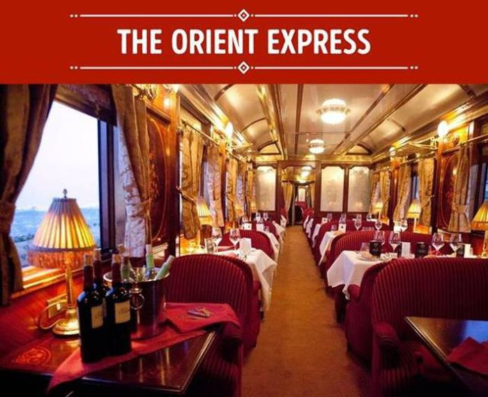 Luxurious Trains Everyone Wishes They Could Ride At Least Once (9 pics)