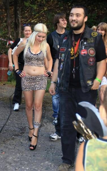 Strange Things You Can See At A Biker Rally (8 pics)