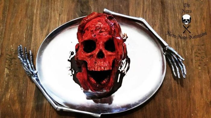The Necro Nom-Nom-Nomicon Is The Only Cake You'll Ever Need (16 pics)