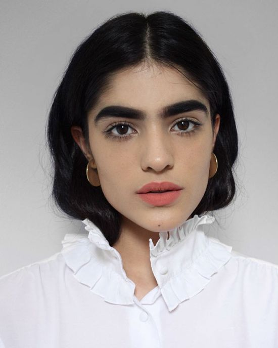 Teenage Girl Lands Modeling Job After Getting Bullied For Her Eyebrows (10 pics)