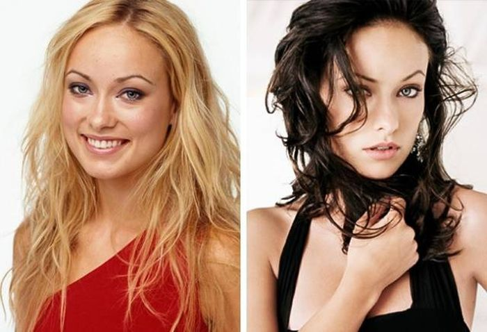 Gorgeous Celebs Who Look Even More Beautiful With Dark Hair (10 pics)