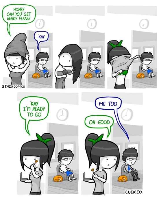 Funny Comics About Love, Life And Relationships (27 pics)