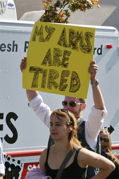 Funny Protest Signs Made By People With A Sense Of Humor (39 pics)
