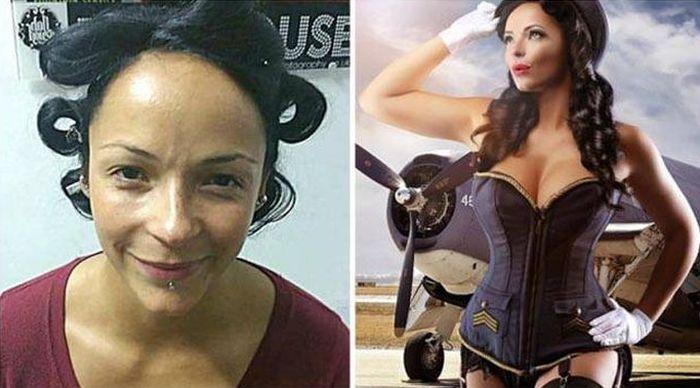 Photographer Turns Oridnary Women Into Supermodels (11 pics)