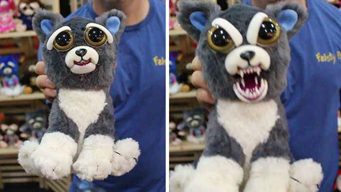 Squeeze These Stuffed Animals And They'll Go From Cute To Terrifying (7 pics)