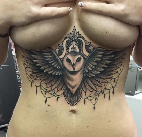 Underboob Tattoos That Are Sure To Impress (23 pics)