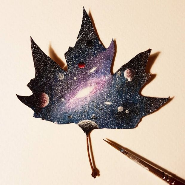 Breathtaking Tiny Paintings On Random Everyday Objects (31 pics)