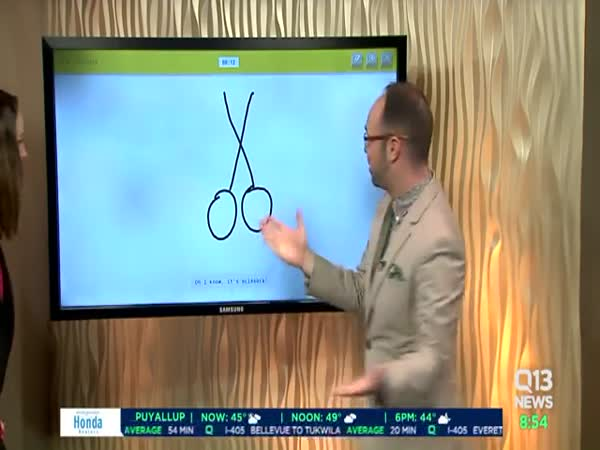 Seattle News Anchor Accidentally Draws A Giant Penis On Live TV