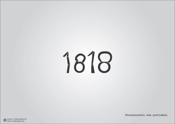 Interesting Illustrations Celebrate Historical Events With Their Date Numbers (15 pics)