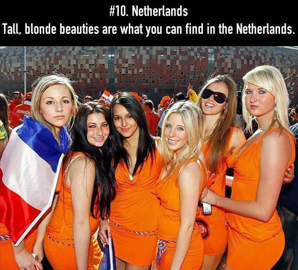The Top 15 Countries With The Most Beautiful Women In The World (32 pics)