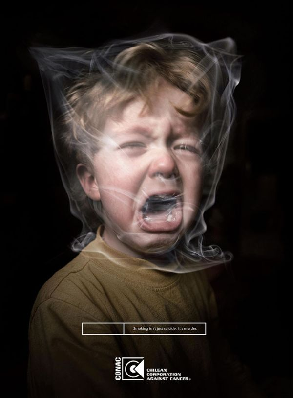 Powerful Smoking Ads That Say Way More Than A Thousand Words (35 pics)