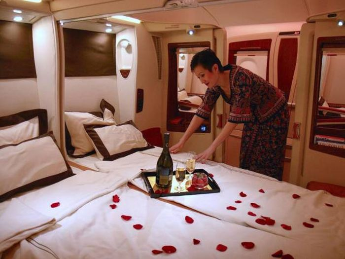 Guy Gets A $16,000 First-Class Airline Ticket For $480 On Christmas Eve (29 pics + video)