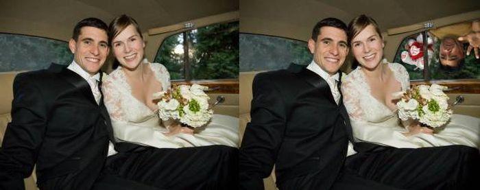 Guy Hilariously Photoshops Himself Into Awkward Stock Photos (14 pics)