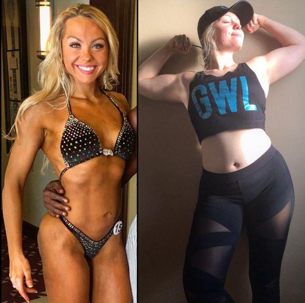 Female Bodybuilder Reveals Her Off Season Physique (3 pics)