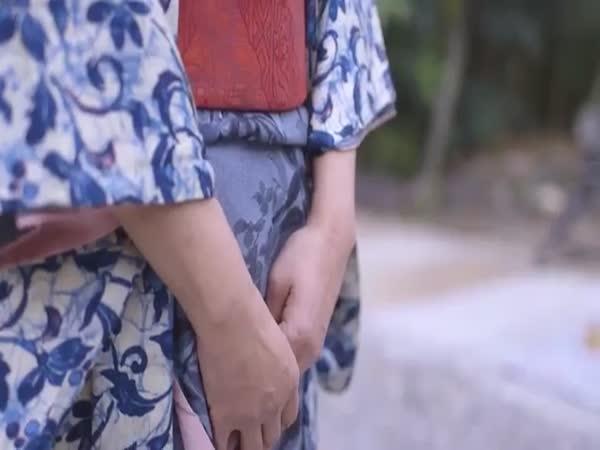Japanese Elderly Ladies In The 60s Dancing
