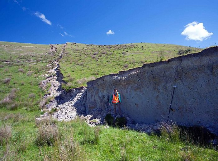 Photos Show The Aftermath Of The New Zealand Earthquake (6 pics)