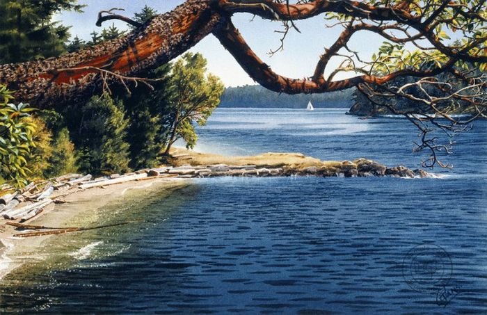 Realistic Watercolor Paintings That Will Make Your Jaw Drop (26 pics)