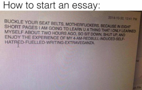 Honest Jokes That Any Student Will Relate To (18 pics)