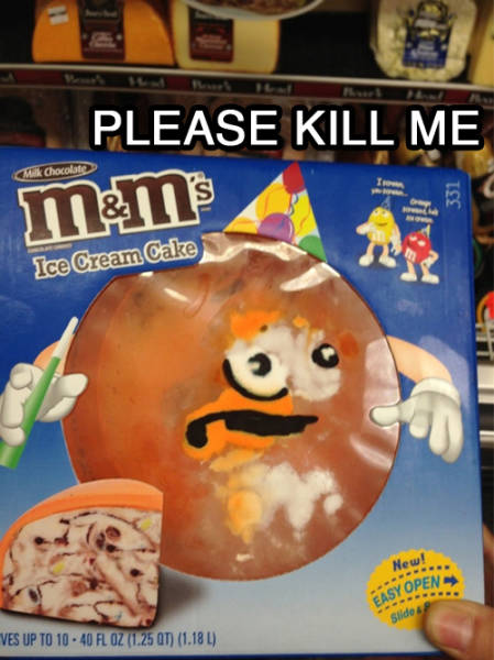 People And Things That Are Clearly Screaming Please Kill Me (40 pics)