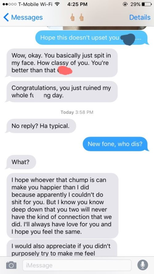 Guy's Plan Backfires When He Tries To Make His Ex Jealous (4 pics)