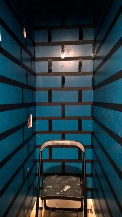 Guy Turns His Hallway Into A Mini Mushroom Kingdom (30 pics)