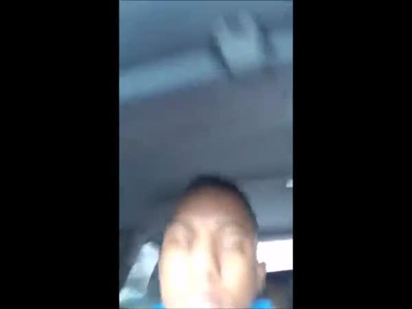 Reckless Driver Streams Himself