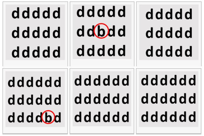 See If Your Eyes Can Find The Letters Hidden In This Test (2 pics)