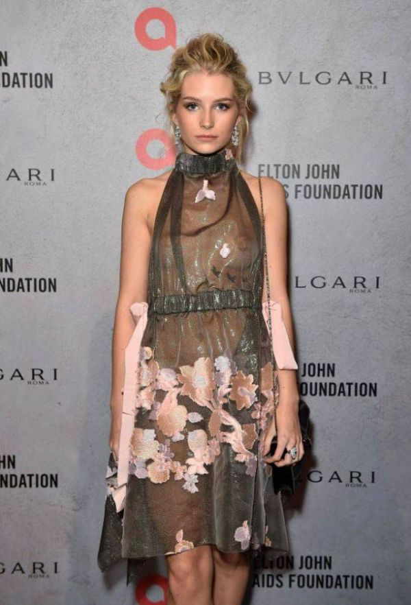 Kate Moss's Sister Charlotte Moss Steals The Show At Elton John's Charity Event (5 pics)