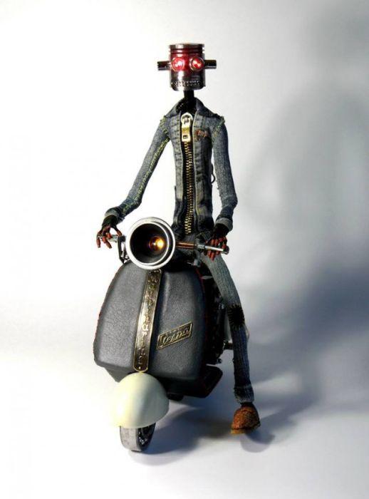 Awesome Steampunk Robots By Mashinarius (44 pics)