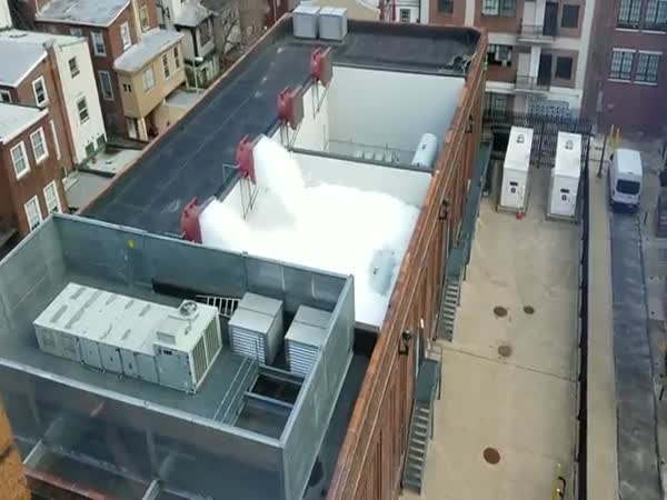 Pennsylvania Electrical Station Turns Into Foam Party