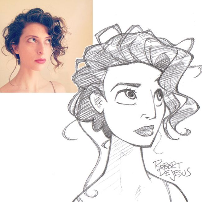 Artist Turns Total Strangers Into Awesome Anime Characters (29 pics)
