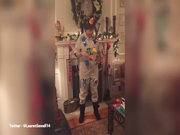 Woman Amazingly Plays Carol Of The Bells On A Handmade Bell Suit