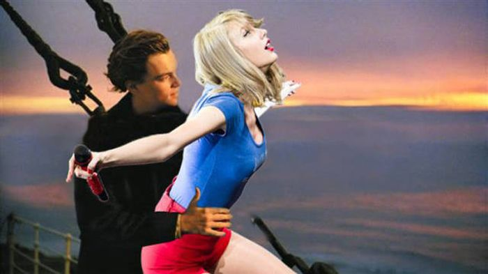 Pic Of Taylor Swift Bending Over Ignites A Photoshop Battle (17 pics)