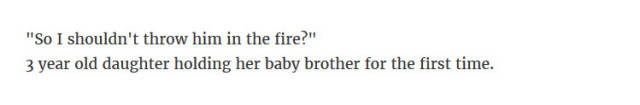 Parents Reveal The Freakiest Stuff Children Have Ever Said To Them (40 pics)