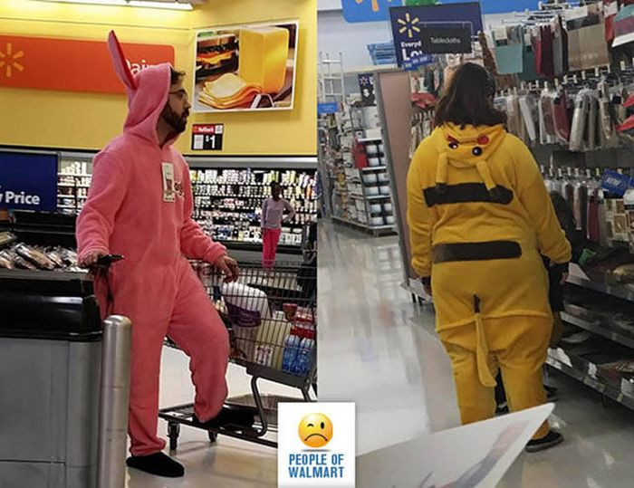 People walmart shoppers think