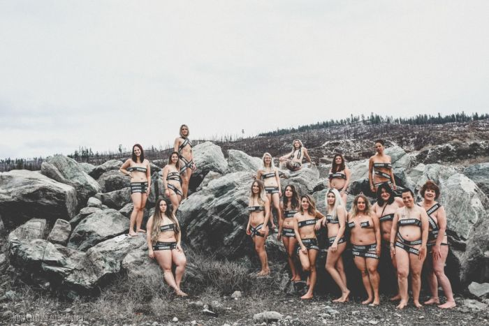 Women Use Carefully Placed Tape To Protest Facebook's Nudity Rules (13 pics)
