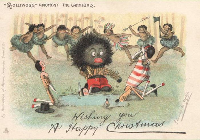Weird and creepy christmas cards from the victorian era for Odd victorian names