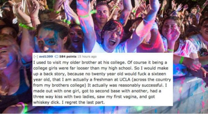 People Reveal Desperate Things They Did Because They Were Horny (17 pics)