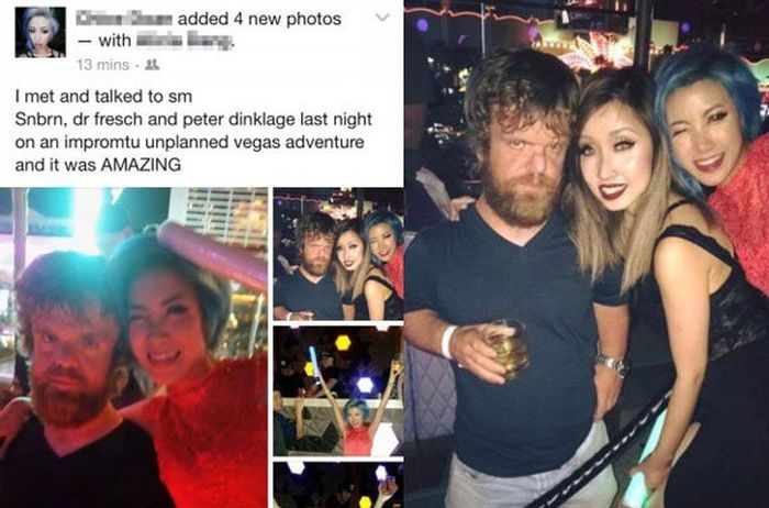 People Who Clearly Did Not Meet A Celebrity (22 pics)