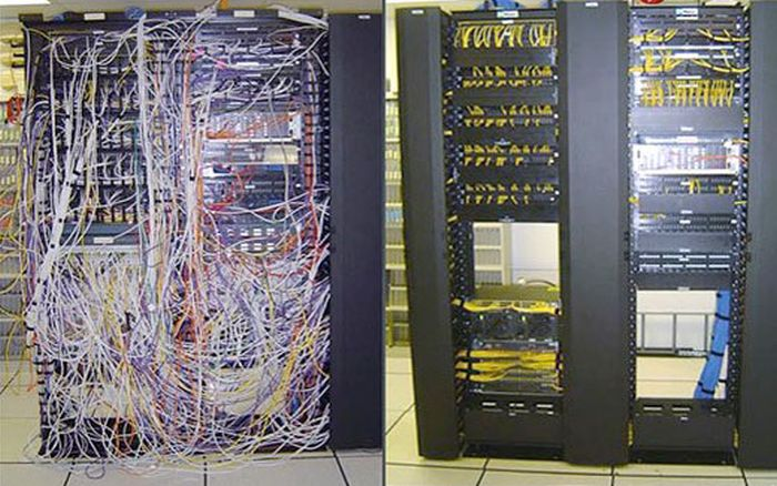 Before And After Pics That Will Satisfy IT Workers (6 pics)