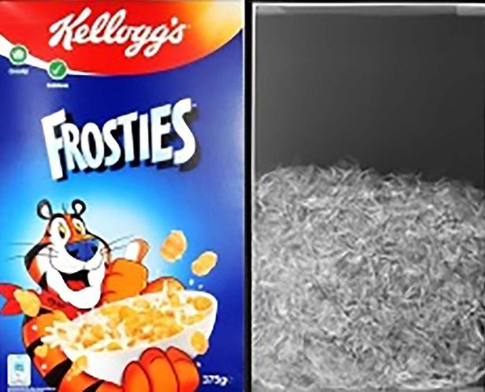 Shocking X-Rays Show Just How Much Air Is In Food Bags (7 pics)