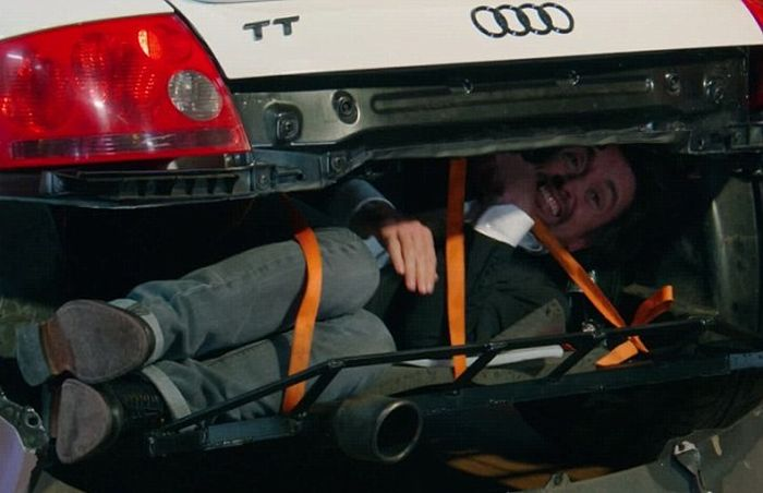 The Grand Tour Teaches Fans How To Smuggle Migrants In A Audi TT (4 pics)