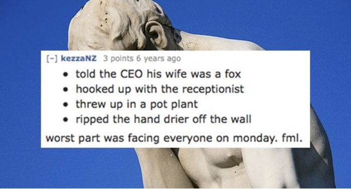 12 Extremely Embarrassing Company Christmas Party Stories (12 pics)